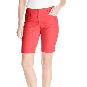 Women's Adidas Pink Bermuda Shorts NWT 14